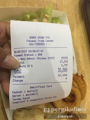 Foto 3 - Menu di Doner Kebab oleh Nurul Zakqiyah