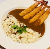 Foto brown curry with prawn di Go! Curry
