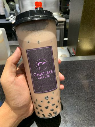 Foto Makanan di Chatime Atealier