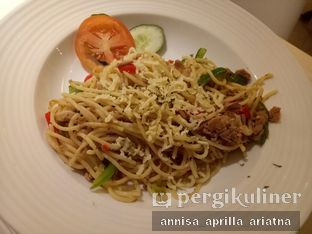 Foto 2 - Makanan(Aglio Olio Spaghetti) di Fish & Chips House oleh Foody Stalker // @foodystalker