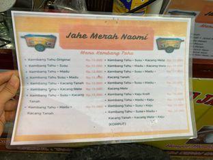 Foto review Kembang Tahu & Susu Jahe Merah Naomi oleh Levina JV (IG : @levina_eat & @levinajv) 11
