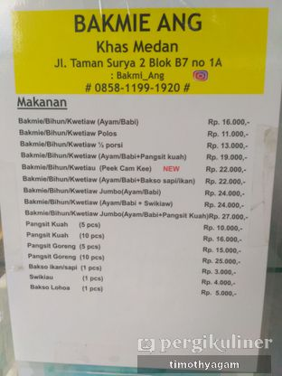 Foto review Bakmi Ang oleh Kuliner Sama Agam 1