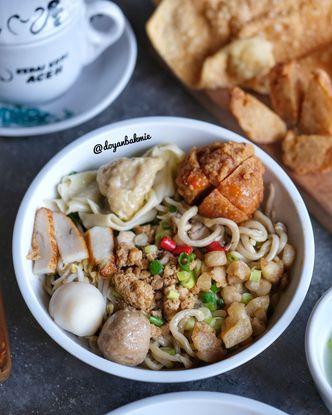 Foto Makanan di Bakmi Mantoel