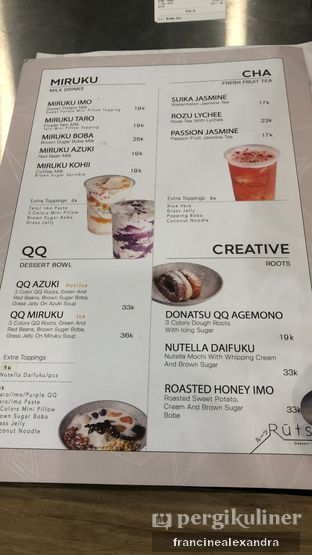 Foto review RUTSU Dessert Factory oleh Francine Alexandra 4