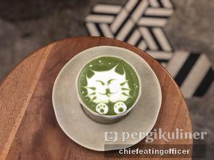 Foto 5 - Makanan(Green Tea Latte Caramel) di Sama Dengan oleh Cubi