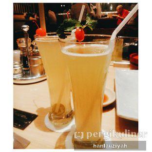 Foto 2 - Makanan(Ice Green Apple & Ice Mojito Mint Tea) di Sushi Tei oleh Han Fauziyah