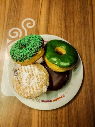 Foto Makanan di Dunkin' Donuts