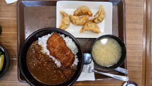 Foto 5 - Makanan(Chicken katsu curry gyoza set) di Sukiya oleh Komentator Isenk