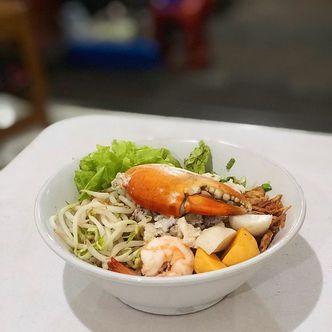 Foto Makanan di Bubur Dan Bakmie Kepiting Hokie