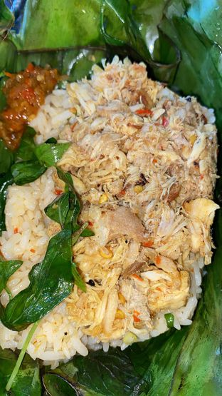 Foto - Makanan(Nasi Bakar Ayam) di Pisang Goreng Madu Bu Nanik oleh Femmy Monica Haryanto