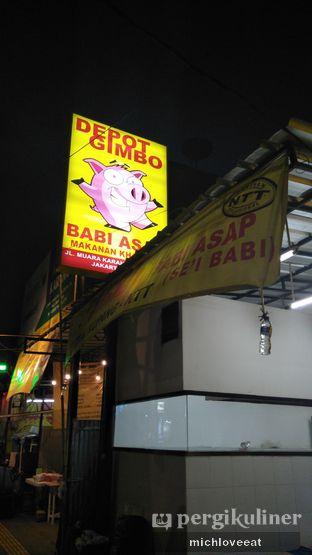 Foto 4 - Eksterior di Depot Gimbo Babi Asap oleh Mich Love Eat