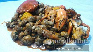 Foto 1 - Makanan(Mix perang kerang 5) di Perang Kerang - Barbarian Seafood House Restaurant oleh dinny mayangsari