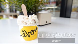 Foto 1 - Makanan(Oreo cheese & Salted Caramel Biscuit) di Ilvero Gelateria oleh Audry Arifin @thehungrydentist