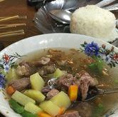 Foto sop sapi di Warung Sate Sidareja Pak Gino
