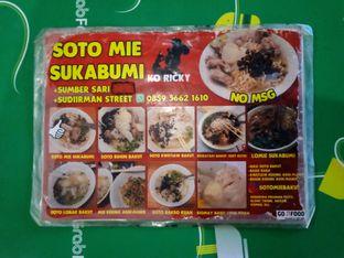 Foto 1 - Menu di Soto Mie Bakut Sukabumi Ko Ricky oleh Chris Chan