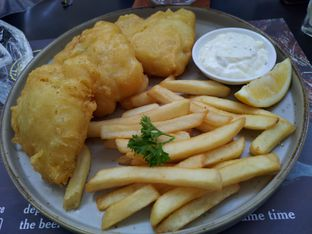 Foto 4 - Makanan(Fish and Chips) di Justus Steakhouse oleh @eatlikepanda