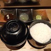 Foto Miso, nasi, dan bumbu di Beef Boss