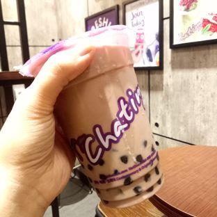 Foto 3 - Makanan(Hazelnut Chocolate Milk Tea + Pearl) di Chatime oleh Afifah Romadhiani