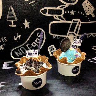 Foto 2 - Makanan di Glasch Nitrogen Ice Cream oleh Eat and Leisure