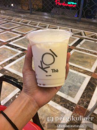 Foto 1 - Makanan(Green Milk Tea) di KOI Cafe oleh Shella Anastasia