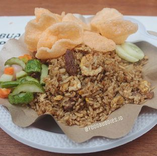 Foto - Makanan di Nasi Goreng Kebuli Apjay oleh @Foodbuddies.id | Thyra Annisaa