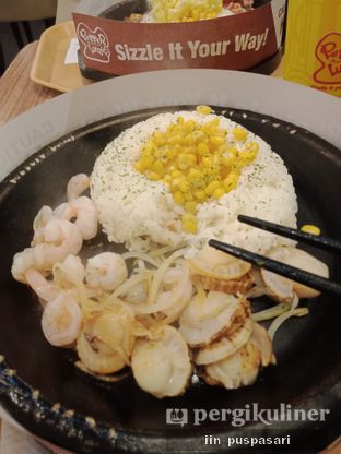 Foto - Makanan(Scallop & Prawn Curry Rice) di Pepper Lunch oleh Iin Puspasari