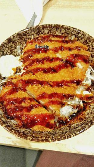 Foto 14 - Makanan(Chicken cutlet teriyaki donburi) di Kappa Sushi oleh duocicip