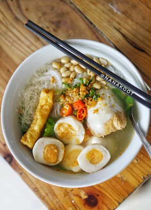 Foto 2 - Makanan di Bakso Ikan Telur Asin Ahan oleh Nanakoot