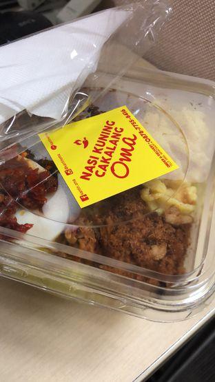 Foto 1 - Makanan di Nasi Kuning Cakalang Oma oleh FebTasty  (Feb & Mora)