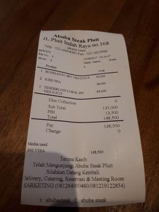 Foto 3 - Menu di Abuba Steak oleh Aloysia Anna
