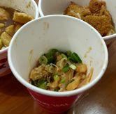 Foto Jeju Squid Peanut (porsinya gak sampai setengah dari mini cup) di Gildak