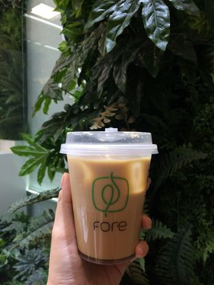 Foto 1 - Makanan(Iced Honey Latte) di Fore Coffee oleh Elvira Sutanto