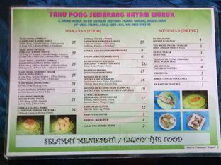 Foto 2 - Menu di Tahu Pong Semarang oleh Fuji Fufyu