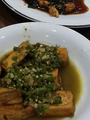 Foto 3 - Makanan(Tahu cajo) di Ayam Pedos oleh Claudia @grownnotborn.id