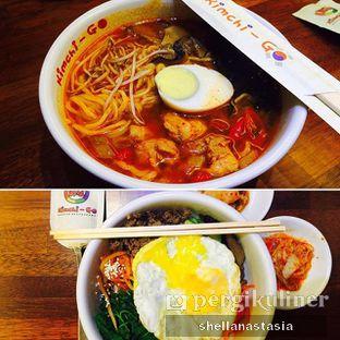 Foto - Makanan(Chilli Chicken Ramyeon & Bimbimbap) di Kimchi - Go oleh Shella Anastasia