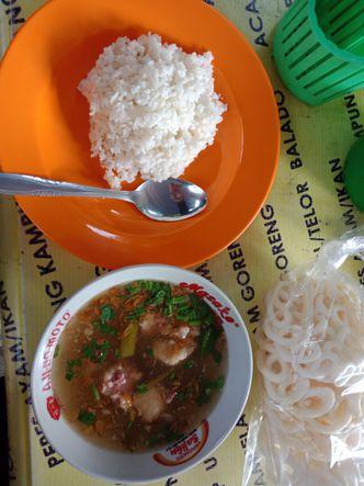 Foto Makanan di Warung Nasi Pak Majid