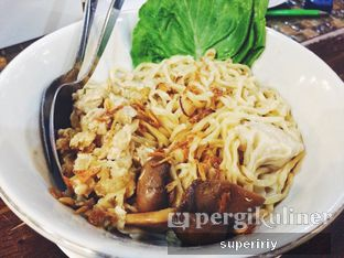 Foto 1 - Makanan(mie pangsit ayam jamur) di Wapo Resto oleh @supeririy