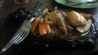 Foto Makanan di Steak Ranjang