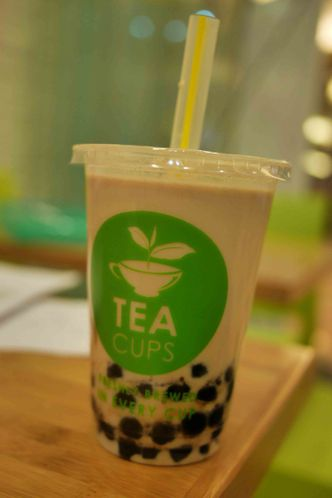 Foto Makanan di Tea Cups