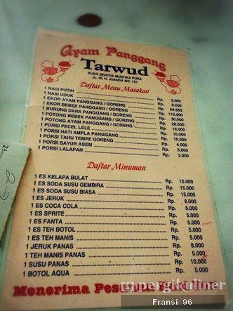 Foto Menu di Ayam Panggang Tarwud