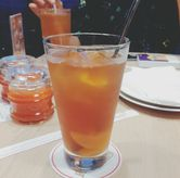 Foto Peach Ice Tea di Popolamama