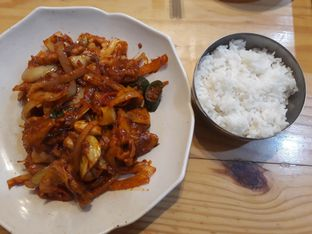 Foto 2 - Makanan(Jaeyuk Bokum) di Han Gook oleh Aireen Puspanagara