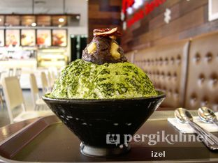Foto 1 - Makanan(Matcha snowflake milk sherbet) di Aree oleh izel / IG:Grezeldaizel