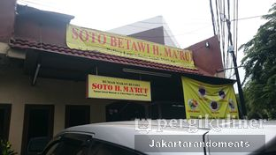 Foto 3 - Eksterior di RM Betawi Soto H. Ma'ruf oleh Jakartarandomeats