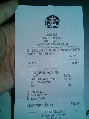 Foto 2 - Menu di Starbucks Coffee oleh lisa hwan
