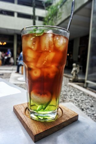 Foto 9 - Makanan(Iced Lychee Tea) di Justus Steakhouse oleh Fadhlur Rohman