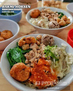 Foto 1 - Makanan di Bakmi Hoksen oleh Asiong Lie @makanajadah