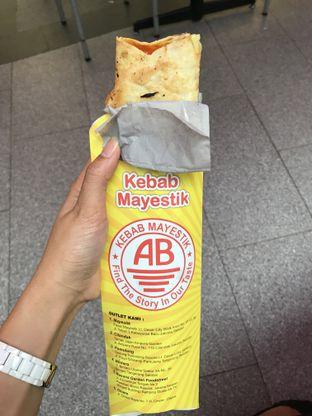 Foto 1 - Makanan di Kebab AB Mayestik oleh FebTasty  (Feb & Mora)