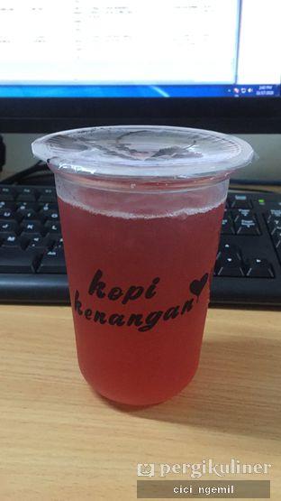 Foto 2 - Makanan(Raspberry Hibiscus Lemon Tea) di Kopi Kenangan oleh Sherlly Anatasia @cici_ngemil