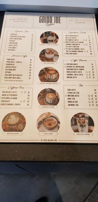Foto Menu di GrindJoe Coffee - Moxy Hotel